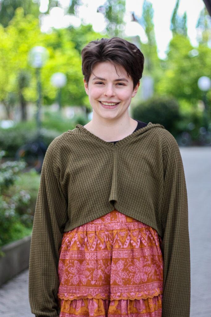 Foto: Johanna Fehrle, Frauen- und Genderpolitische Sprecherin der GRÜNEN JUGEND Bayern